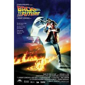 Back To The Future Movie Poster Print Poster Poster Print