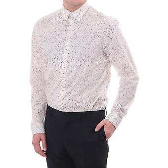 Paul Smith London Gents Formal Shirt Sc Tailored Fit With Square Pri
