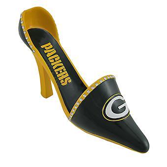 NFL Green Bay Packers korkea kantapää kenkä viinipullo haltija