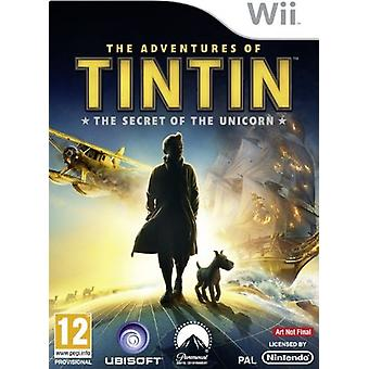 The Adventures Of Tintin The Secret Of The Unicorn The Game (Wii) - New