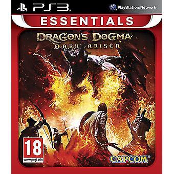 Dragons dogme mørke oppstått Essentials PS3 spillet