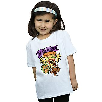 Scooby Doo Girls Pizza Ghost T-Shirt