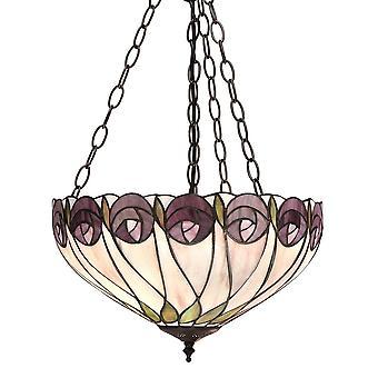 Intérieurs 1900 Hutchinson 3 lumière plafond moyen pendentif à Bron