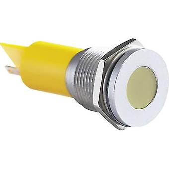 APEM LED indicator light Yellow 24 V DC Q16 F1 CXXY 24E