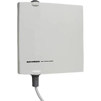 Kathrein BZD 40 DVB-T/T2 actieve Planaire antenne buitenshuis versterking: 18 dB grijs
