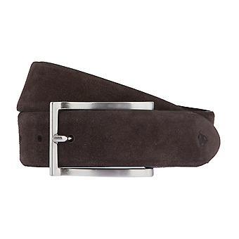 Cinture da ROY ROBSON Cinture uomo pelle Cintura Camoscio marrone 2685