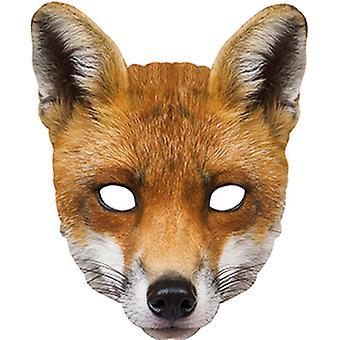 Fox Animal Face Maske Gesicht Tiermaske Karneval Halloween