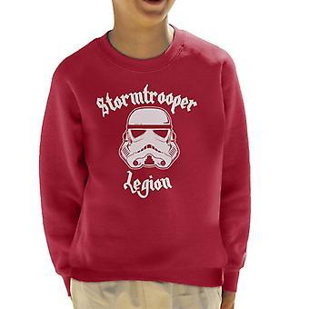 Original Stormtrooper Legion Heavy Metal Kid's Sweatshirt