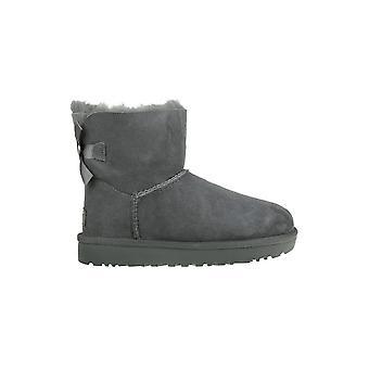 UGG Mini Bailey Bow II 1016501GREY universal winter women shoes