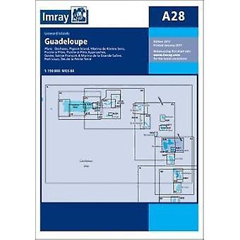 Imray Chart A28 - Guadeloupe by Imray - 9781846238666 Book