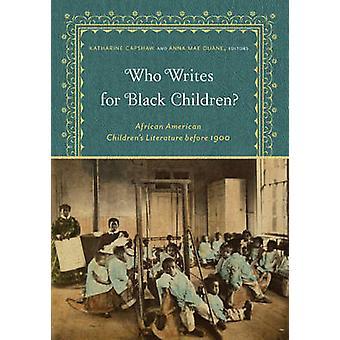 Quem escreve para crianças negras? -Literatur afro-americano infantil