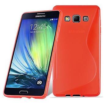 Fodral för Samsung Galaxy A7 2015 Flexibel TPU Silikon telefonväska - Omslag - ultra slim