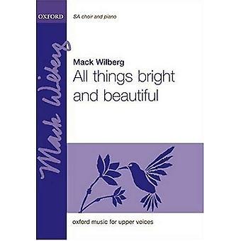 Toute chose belle et lumineuse: chant, piano (piano 2 mains version)