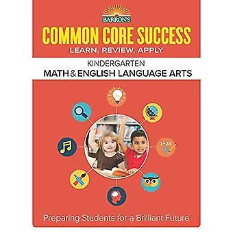 Barron's gemeenschappelijke kern succes Grade K Ela Math werkmap (Core succes werkmap)
