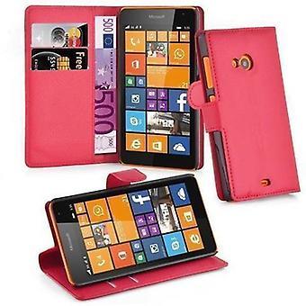 Cadorabo Hülle für Nokia Lumia 625 Case Cover - Handyhülle mit Magnetverschluss, Standfunktion und Kartenfach – Case Cover Schutzhülle Etui Tasche Book Klapp Style