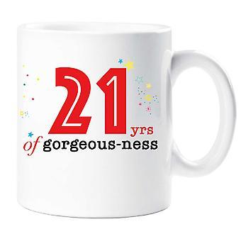 21 år af smukke ness krus