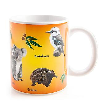 Aussie djur Outback kompisar kaffekopp