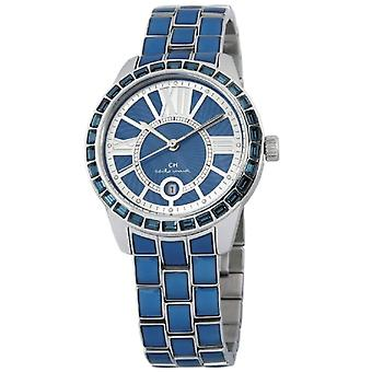 Carlo Monti CMZ01-133-wristwatch, stainless steel, color: Blue