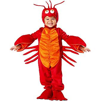 Red Lobster Toddler Costume