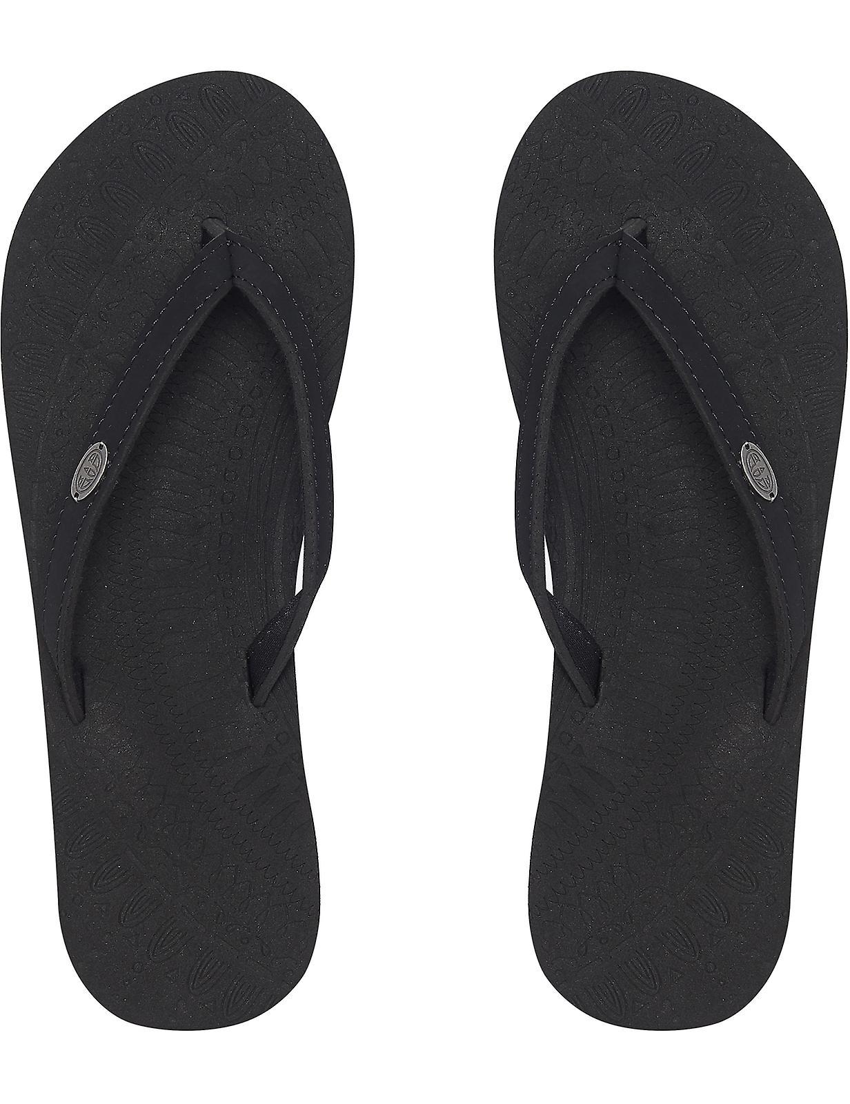 Animal Sorella Flip Flops in Black 5KKpz