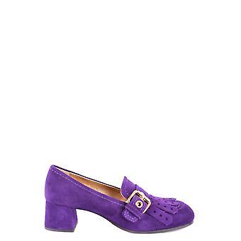 Car Shoe Ezbc029019 Women's Purple Suede Pumps