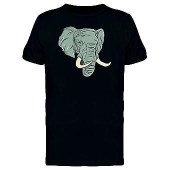 Elefantenkopf T-Shirt Herren-Bild von Shutterstock