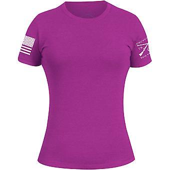 Grunt Style Women's Basic Crewneck T-Shirt - Lush