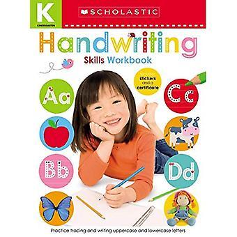 Cahier de compétences de maternelle: écriture manuscrite (apprenants précoces scolastiques)