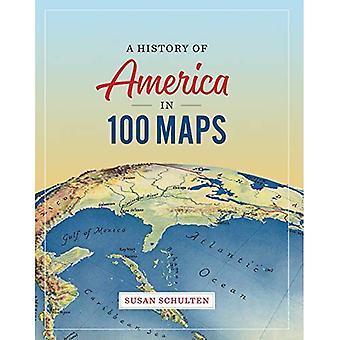 Una historia de América en mapas de 100