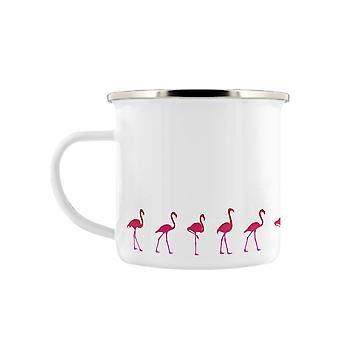 Grindstore Flamingo promenade émail Mug