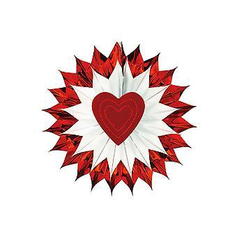 Heart Fan-Burst