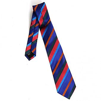 Duchamp of London Block Stripe Tie