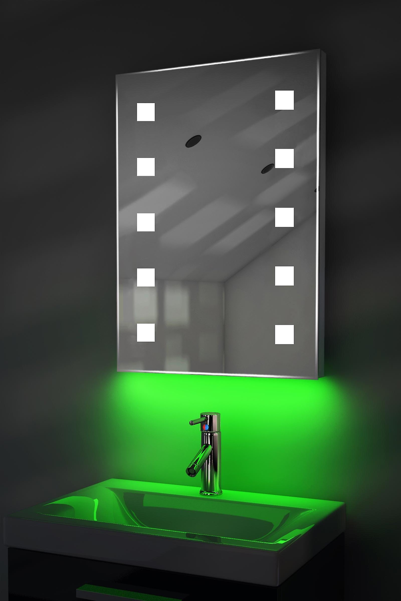 Auto Colour Change Shaver Mirror With Demister & Sensor K209iRgbaud