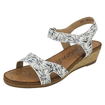 Damer Remonte kile højhælede sandaler R4456