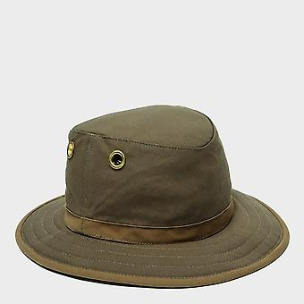 New Tilley TWC7 Outback Waxed Hiking Hat Olive