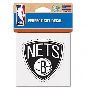 Wincraft деколь 10x10cm - НБА Бруклин Нетс