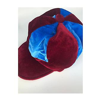 Union Jack Wear Claret & Blue Baker Boy Hat