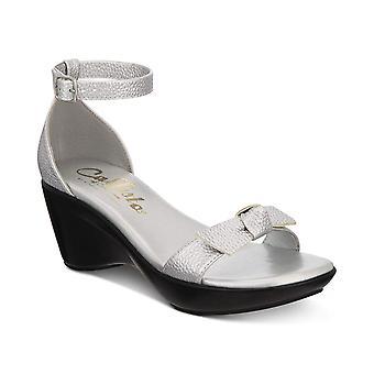 Callisto Womens Sarrita Open Toe Casual Ankle Strap Sandals