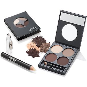 Ardell Brow Defining Kit Powdered Long Last Natural Shade Professional Eyebrows