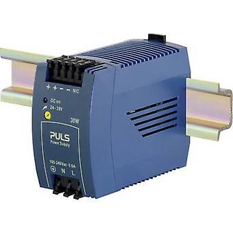 PULS MiniLine ML30.100 Rail mounted PSU (DIN) 24 V DC 1.3 A 30 W 1 x