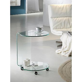 Schuller Glass Round Side Table