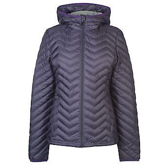 Eastern Mountain Womens Feather Packable Kapuzenjacke LadiesZip Langarm Top