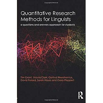 Kvantitatiivisil La menetelmillä alihankkijoiden: A kysymyksiä ja vastauksia lähestymistapa opiskelijoille