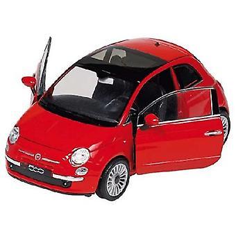 Goki Fiat 500 (2007), die-cast, 1:24
