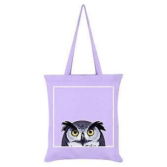 Inquisitive Creatures Owl Tote Bag