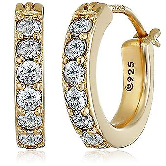 The Gold-plated Women's Lumiere Transparent Zirconia cubic JEE00212_130CL00A100
