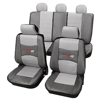 Stylish Grey Seat Covers set For Ford Escort 1995-2001