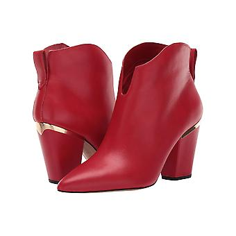 1.STATE Womens 1S-CORBEN Leather Pointed Toe Ankle Fashion Boots