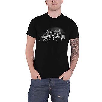 חולצת הביטלס T חיים בוושינגטון לוגו DC הלהקה חדש הרשמי Mens שחור