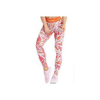 GymHero leggins ORANGE-blad dame leggings